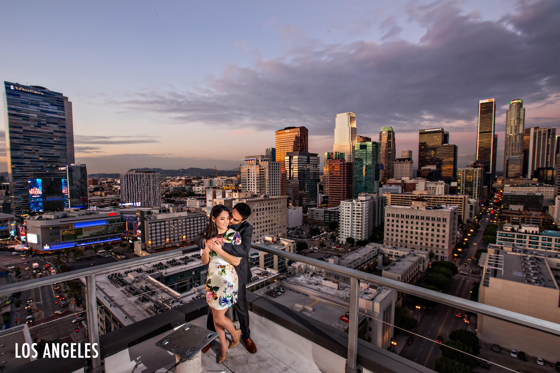 dtla-rooftop-luxury-engagement