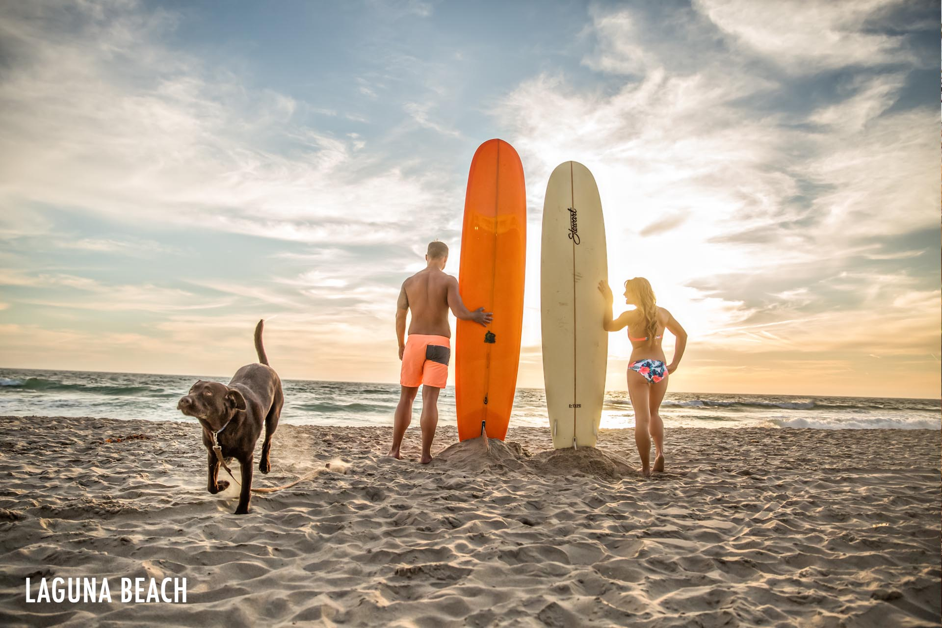 newport-beach-hawaii-luxury-destination-engagement-surf